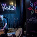 Jon Sterckx - London International Arts Festival. © Maria Torrens / Dhruv Arts.